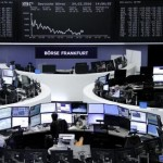 European shares advance, with miners gaining ground