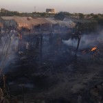40 shanties gutted in fire in Karachi