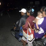 Huge quake strikes off Indonesia but tsunami warnings canceled