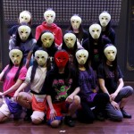 Japan's 'Masked Girls' seek fame under cover