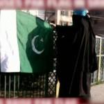 Pakistani flag hoisted in Indian held Kashmir