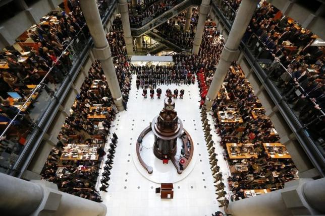 Lloyd's of London 2015 pre-tax profit drops 30 percent