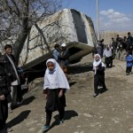 Bomb kills two education ministry workers in Afghan capital
