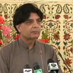 Ch Nisar warns against threat of sit-in, meeting