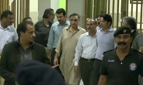 Dr Asim returns to Jinnah Hospital after missing mysteriously