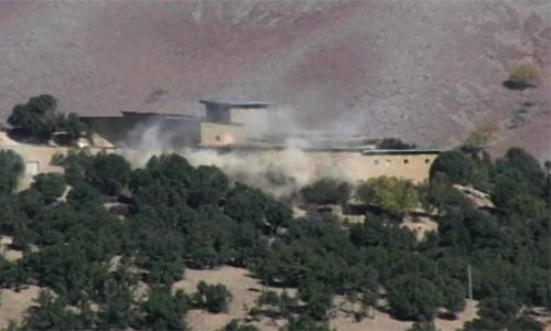 Nine terrorists killed in NWA air strikes