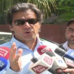 Nisar keeps files to blackmail opposition leader Khurshid Shah: Imran Khan