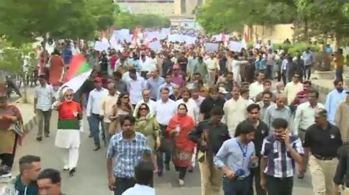 MQM rally 2