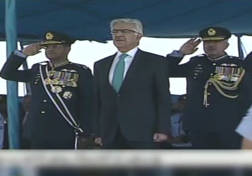 PAF has proved to be leading air force in the world, says Khawaja Asif