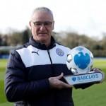 Ranieri, Kane pick up monthly Premier League awards