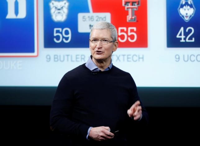 Apple's Tim Cook to visit China for government meetings
