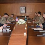 US CENTCOM incoming commander calls on COAS General Raheel Sharif