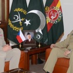 Czech Republic Chief of General Staff General Josef Becvar calls on COAS