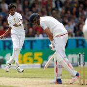 Britain Cricket - England v Sri Lanka - First Test - Headingley - 20/5/16 England's Stuart Broad is bowled by Sri Lanka's Dushmantha Chameera Action Images via Reuters / Lee Smith Livepic