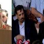 Mustafa Kamal, Anees Qaimkhani call on DG Rangers Sindh
