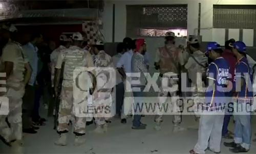 Four injured in Karachi firing