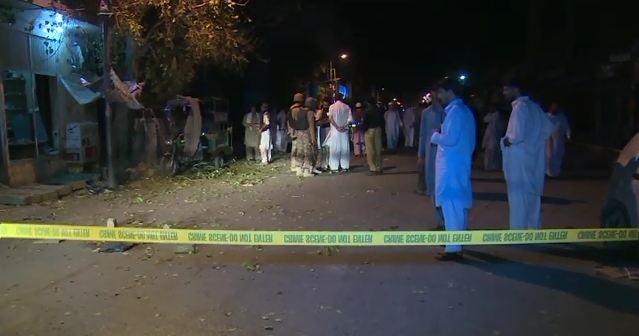 Cops among 11 injured in Mardan suicide blast
