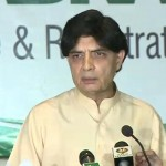 All CNICs will be re-verified in six months, says Ch Nisar