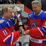 Putin prevails in Sochi all-star ice hockey game