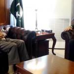 Afghanistan's Ambassador to Pakistan calls on Sartaj Aziz