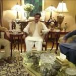 Shahbaz Sharif meets Yousaf Raza Gillani; congratulates him on his son's recovery