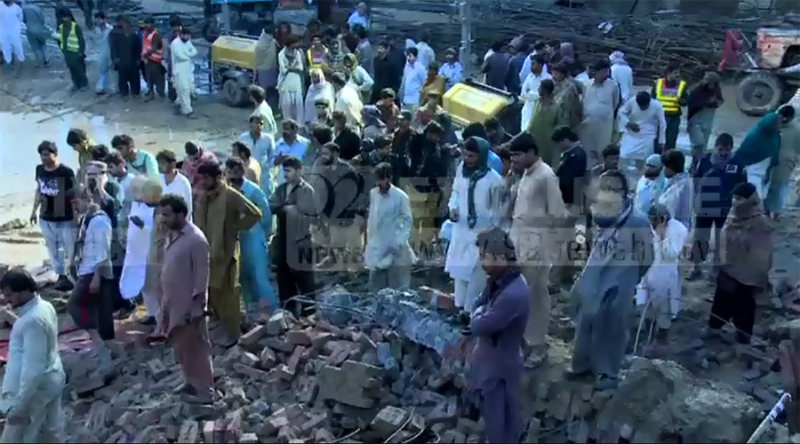 Seven workers die as wall of Orange Train project falls in Lahore