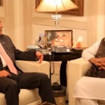 Maulana Fazlur Rahman calls on Asif Zardari in London