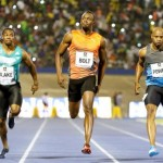 Bolt stumbles to victory in 9.88 seconds