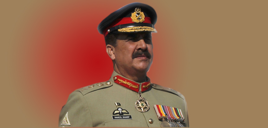 Peaceful atmosphere is a result of sacrifices of army and people: COAS Gen Raheel Sharif