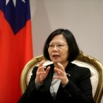 Taiwan president says wants to maintain communication with China