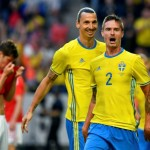 Zlatan turns provider as Sweden sign off with Wales win