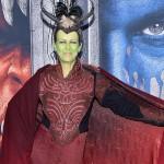 Jamie Lee Curtis turns Orc at 'Warcraft' premiere