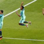 Ronaldo scores at four Euros, sets appearance record