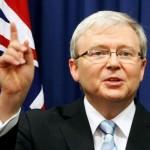 Australian PM says won't back former leader Rudd for top UN job