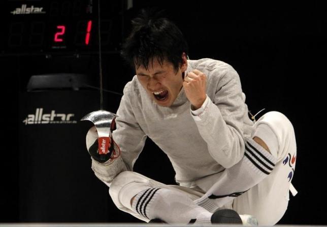 Fencer Gu named South Korea flagbearer for Rio