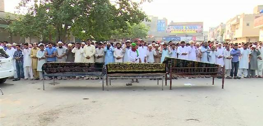 Pakistanis drowned in Egypt's Nile laid to rest in Lahore