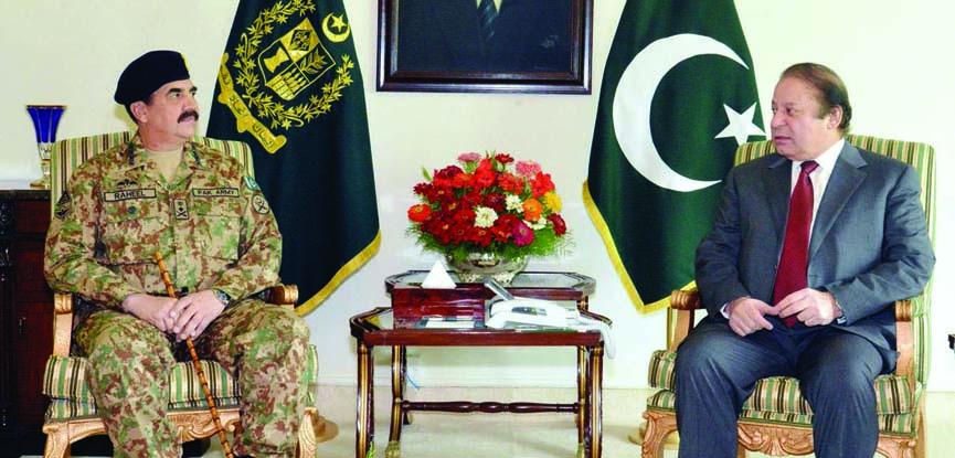 COAS Gen Raheel Sharif likely to meet PM