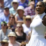 Serena thrashes Vesnina to reach Wimbledon final