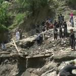 Heavy flood destroys Chitral's far-off village