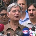 I don't take Ch Nisar seriously, says Aitzaz Ahsan