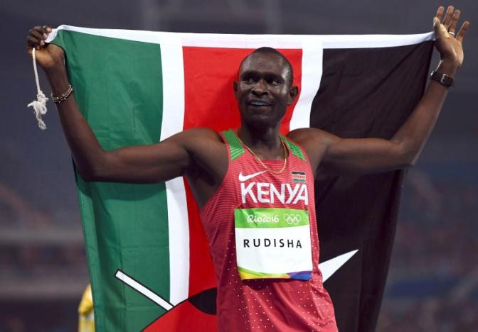 Athletics: Kenya's Rudisha retains 800m title