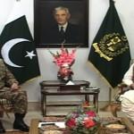 COAS Gen Raheel Sharif calls on PM Nawaz