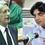 Aitzaz Ahsan is not a 'Dracula' whom I should be afraid of, says Ch Nisar