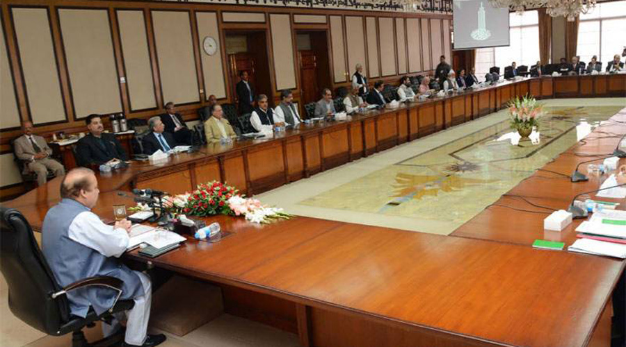 PM chairs federal cabinet meeting today
