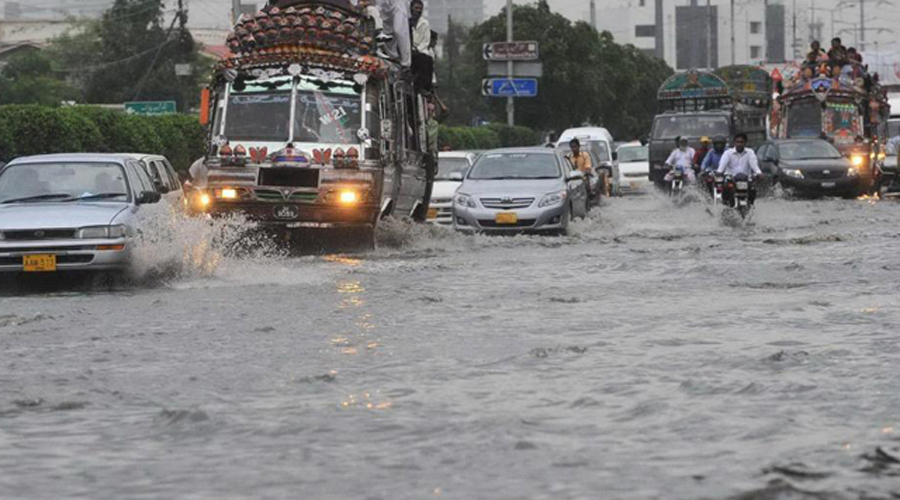 Heavy downpour in parts of country floods streets