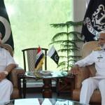 Iraqi Navy commander visits Naval Headquarters