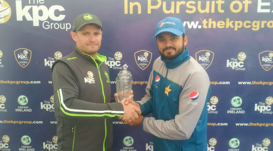 Pakistan faces Ireland in first ODI today