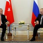 Putin and Erdogan move toward repairing Russia-Turkey ties
