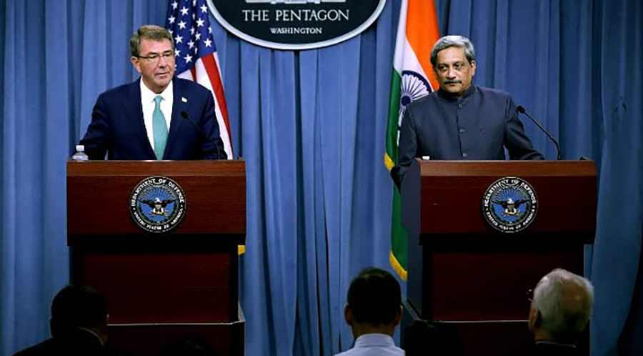 Us India Sign Military Logistics Agreement 92 News Hd Plus