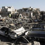 Saudi-led air strikes on Yemen capital resume, nine civilians killed